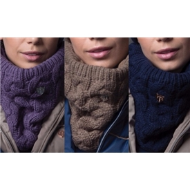 'Equetech Cable Knit Loop Scarf