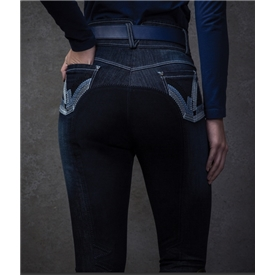'Equetech Denim Breeches
