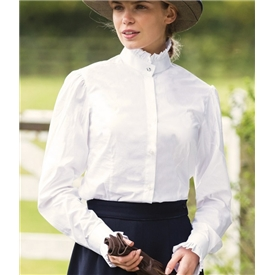 Equetech Ladies Frilly Show Shirt