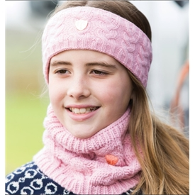 Equetech Cable Headband and Scarf