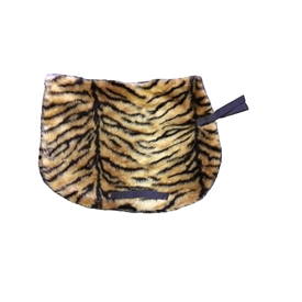 Tiger Print Saddle Cloth
