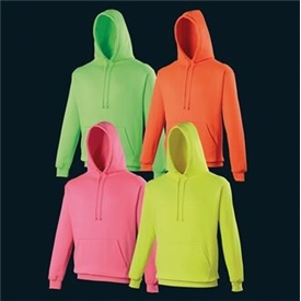 Florescent Electric Heavy Weight Hoody