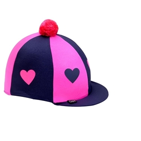 Lycra Hearts Hat Cover