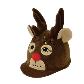 Rudolph Hat Cover