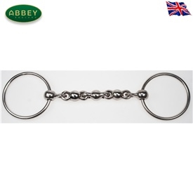 Abbey Riding Bitz Loose Ring Waterford Snaffle