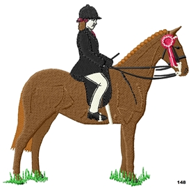 Show Pony With Rider 148