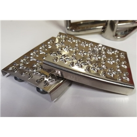 Cheese Grater Stirrup Iron Treads