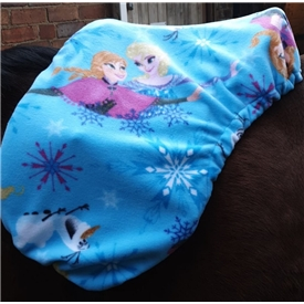 Frozen Fleece Saddle Cover