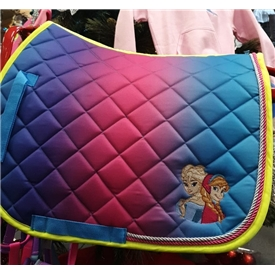 Frozen Quilted Saddle Cloth