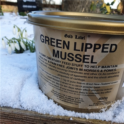 Gold Label Green Lipped Muscle 450g