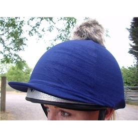Hat Cover with Pom Pom