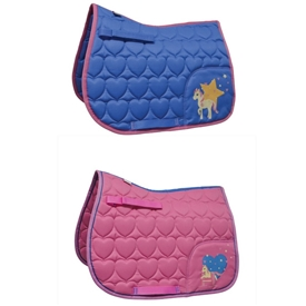 ''Little Rider Star in Show Saddle Pad