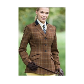 Equetech Ladies Deluxe Marlow Riding Jacket