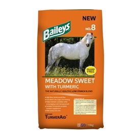 Baileys No.8 Meadow Sweet with Turmeric 15 kg