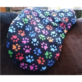 Paw Prints Saddle Cover