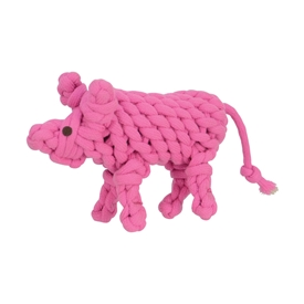 Pinky Pig Toy Dog