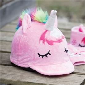 *Plush Unicorn Hat Silk
