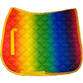 Sheldon Rainbow Saddle Cloth