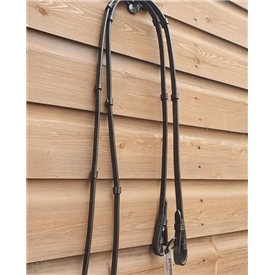 Plain Leather Reins with Hand Stops