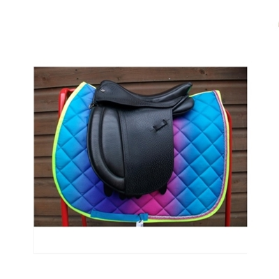 Small Pony Size Aqua Saddle Cloth