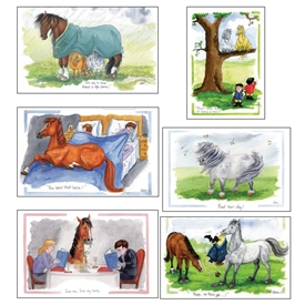 Horse's Greeting Card