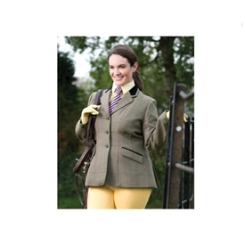Equetech Very Berry Tweed Jacket
